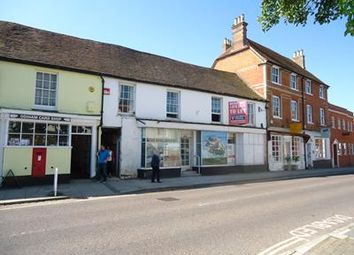 Thumbnail Retail premises for sale in 117 & 117A High Street, Odiham, Hampshire