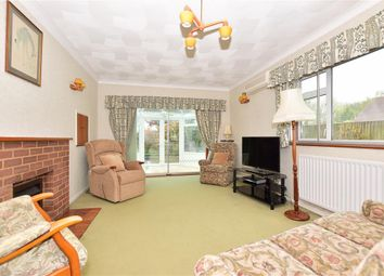 Thumbnail 4 bed bungalow for sale in Wigmore Road, Wigmore, Gillingham, Kent
