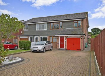 Thumbnail 4 bedroom semi-detached house for sale in Saltmarsh Lane, Hayling Island, Hampshire
