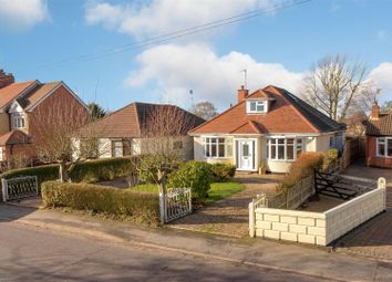 Thumbnail 4 bed detached bungalow for sale in Bagworth Road, Nailstone, Nuneaton