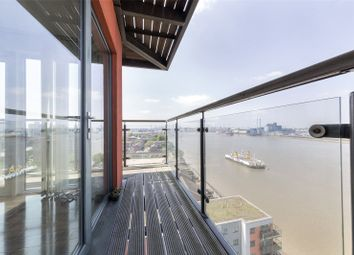 Thumbnail 2 bed flat for sale in Jigger Mast House, Mast Quay, Woolwich, London