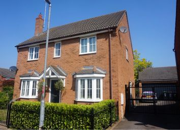 Thumbnail 4 bed detached house for sale in Foundry Walk, Thrapston