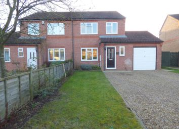 Thumbnail 3 bed semi-detached house to rent in Campion Grove, Stamford, Lincolnshire