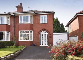 Thumbnail 3 bed semi-detached house for sale in Ivy Road, Macclesfield, Cheshire
