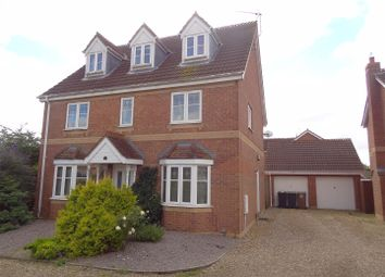 Thumbnail 5 bed detached house for sale in Stone Way, Sleaford