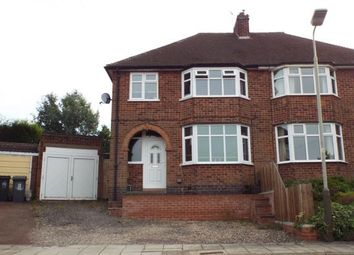 Thumbnail 3 bed semi-detached house for sale in Lancing Avenue, Western Park, Leicester, Leicestershire