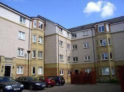 Thumbnail 2 bed flat to rent in Duff Road, Edinburgh