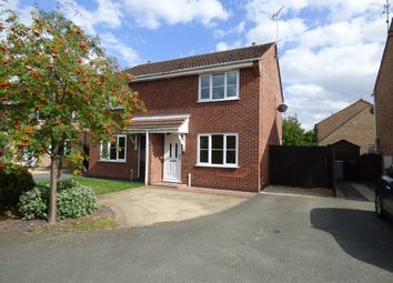 Thumbnail 2 bedroom semi-detached house to rent in Wetherby Close, Bourne