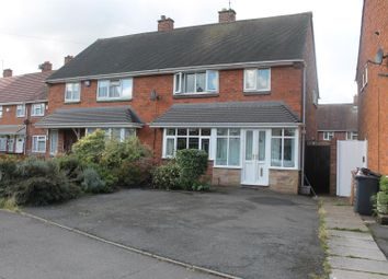 Thumbnail 3 bed semi-detached house to rent in Pershore Close, Bloxwich, Walsall