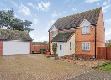 Thumbnail 4 bed detached house for sale in Wentworth Close, Weeting