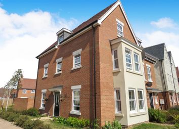 Thumbnail 4 bed semi-detached house for sale in Finzi Grove, Biggleswade