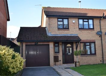 Thumbnail 3 bed semi-detached house to rent in Hopewell Close, Chepstow, Monmouthshire