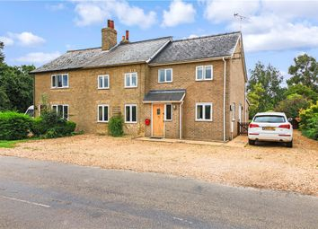 Thumbnail 4 bed semi-detached house for sale in Elsworth Road, Boxworth, Cambridge