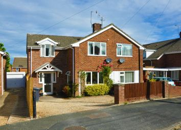 Thumbnail 3 bed semi-detached house for sale in Barcelona Close, Andover