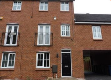 Thumbnail 3 bedroom town house to rent in Pioneer Way, Stafford