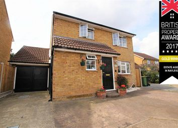 Thumbnail 5 bed detached house for sale in Fairmead, Rayleigh, Essex