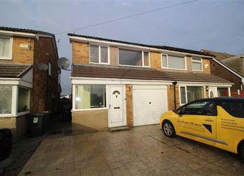Thumbnail 3 bedroom semi-detached house to rent in Heversham Avenue, Fulwood, Preston
