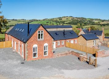 Thumbnail 3 bedroom barn conversion for sale in Plot 1, Upper Pen Y Gelli Farm, Kerry, Powys