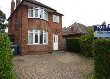 Thumbnail 3 bed detached house to rent in Willson Road, Littleover