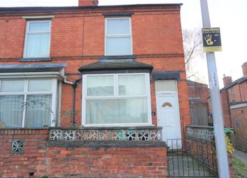 Thumbnail 2 bed end terrace house for sale in Egypt Road, Nottingham, Nottinghamshire