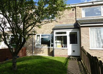Thumbnail 2 bed terraced house to rent in Corbett Road, North Walsham