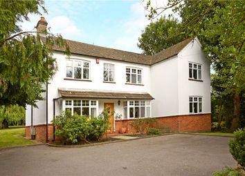 Thumbnail 5 bed detached house for sale in Broadway Road, Windlesham, Surrey