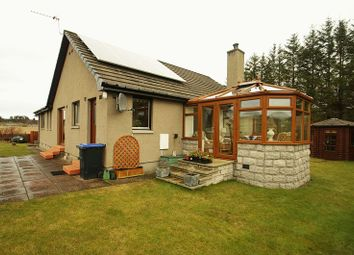Thumbnail 3 bedroom detached bungalow for sale in Cairnie, Huntly