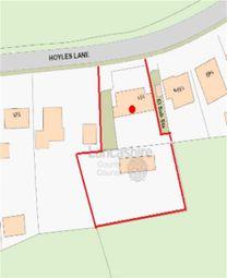 Thumbnail 2 bed detached bungalow for sale in Hoyles Lane, Cottam, Preston