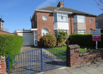 Thumbnail 3 bedroom semi-detached house for sale in Dodd Avenue, Greasby, Wirral