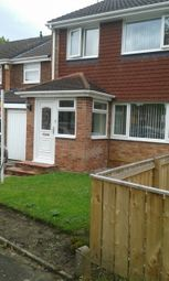 Thumbnail 3 bed semi-detached house to rent in Cowdry Court, Newcastle Upon Tyne