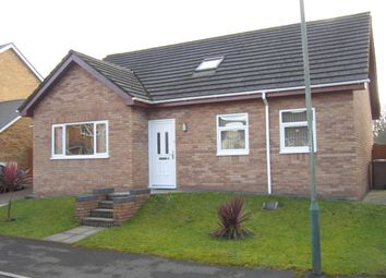 Thumbnail 4 bed detached bungalow for sale in Herons View, Pengam