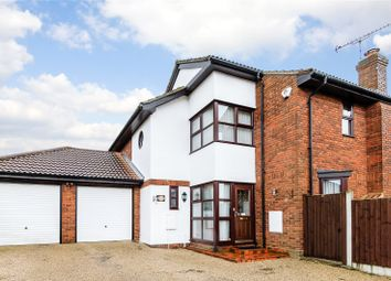 Thumbnail 4 bed detached house for sale in Wheatfield Way, Langdon Hills, Essex