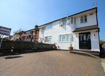 Thumbnail 4 bed semi-detached house for sale in Lynford Gardens, Edgware, Middlesex.