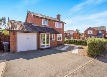 Thumbnail 4 bed detached house for sale in Kinross Way, Hinckley