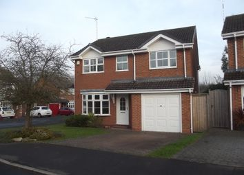 Thumbnail 4 bedroom detached house for sale in Thebes Close, Millisons Wood Near Meriden