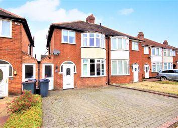 Thumbnail 3 bed semi-detached house for sale in Marjorie Avenue, Kings Norton, Birmingham