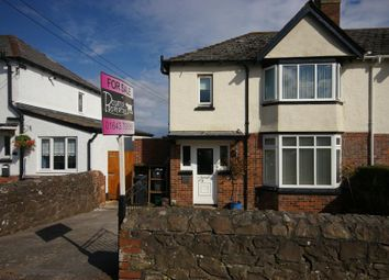 Thumbnail 3 bed semi-detached house for sale in Hillview Road, Minehead