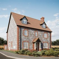 Thumbnail 5 bed town house for sale in Woodpecker Avenue, Holt