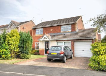 Thumbnail 4 bedroom detached house for sale in Norham Drive, Morpeth