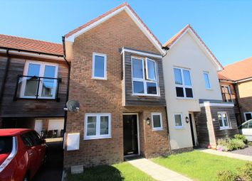 Thumbnail 3 bed terraced house for sale in Sunlower Lane, Polegate
