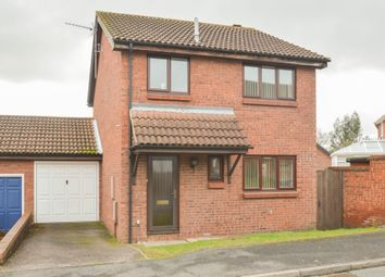Thumbnail 3 bed detached house for sale in Claudian Close, Haverhill