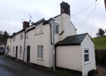 Thumbnail 2 bed terraced house to rent in 1, Oak Cottage, Llandyssil, Powys