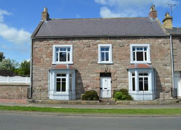 Thumbnail 4 bed end terrace house for sale in Castle Street, Norham, Berwick-Upon-Tweed, Northumberland