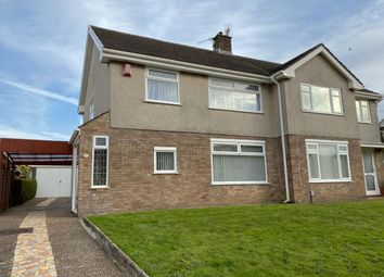 Thumbnail 3 bed detached house to rent in Gwerneinon Road, Sketty, Swansea