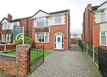 Thumbnail 3 bed detached house for sale in Heath Road, Penketh, Warrington