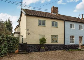Thumbnail 3 bed semi-detached house for sale in New Buckenham, Norwich, Norfolk