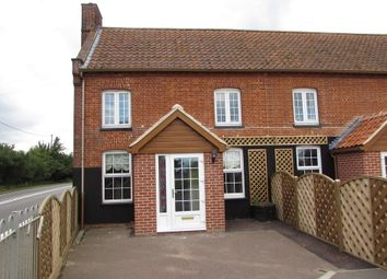 Thumbnail 2 bed end terrace house for sale in Hepworth, Diss