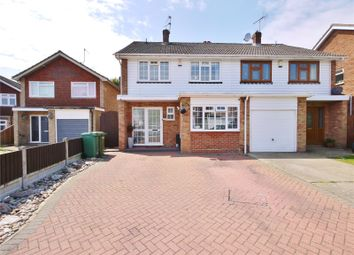 Thumbnail 4 bed semi-detached house for sale in Great Fox Meadow, Kelvedon Hatch, Brentwood, Essex