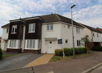 Lavender Hill, Broughton, Milton Keynes, Buckinghamshire MK10. 4 bed semi-detached house for sale