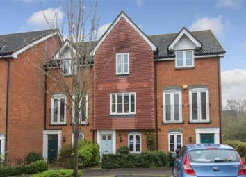 Thumbnail 3 bed town house for sale in Alderney Way, Kennington, Ashford